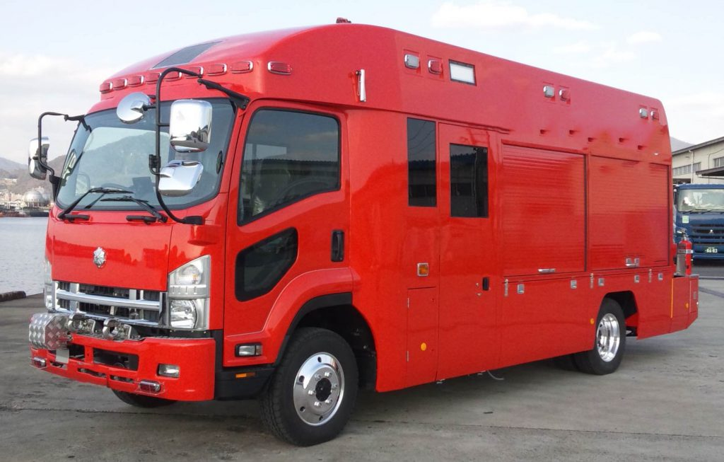 救助工作車Ⅲ型(バス型)