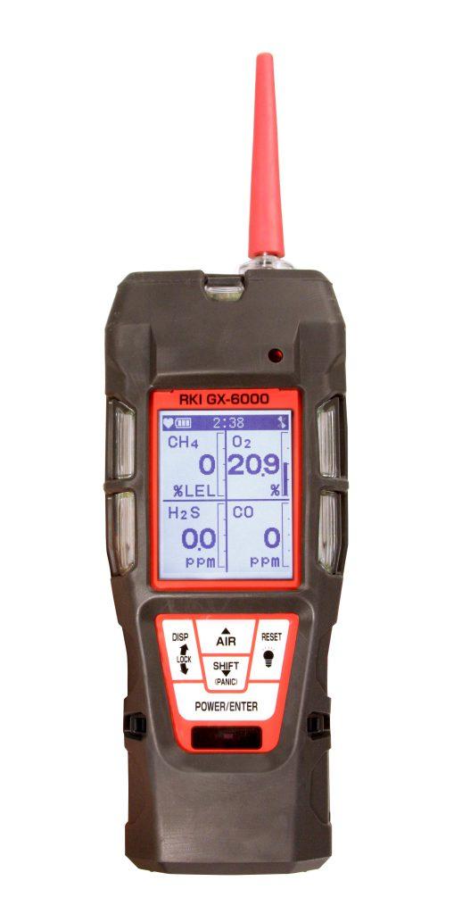 ポータブルマルチガスモニター GX-6000
