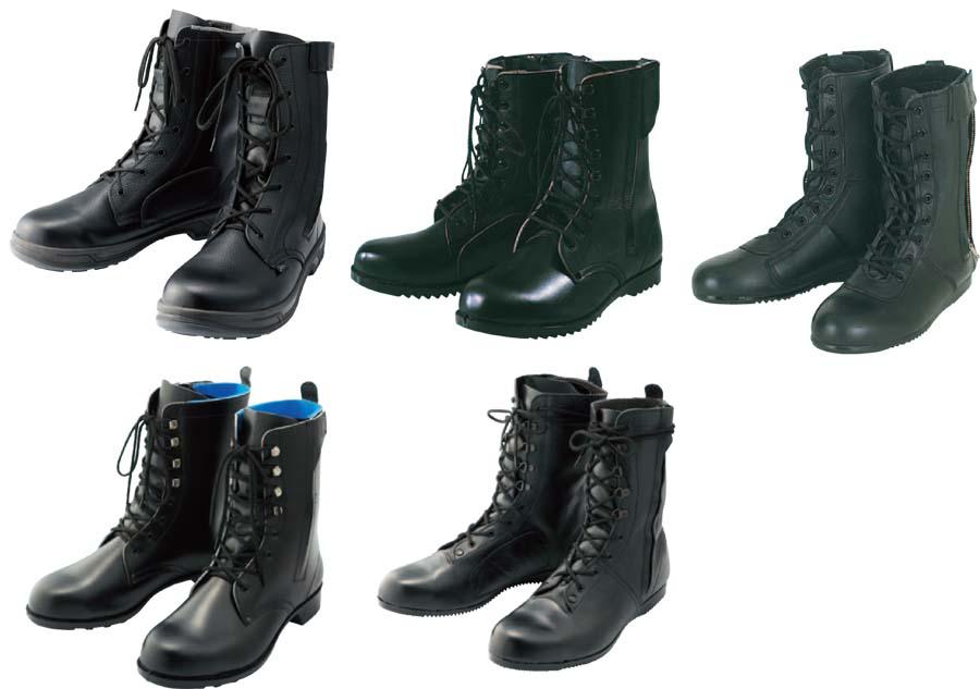 革製編上靴 各種