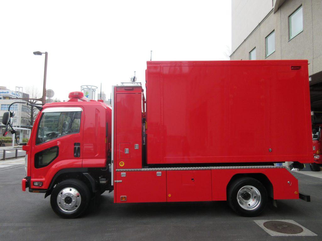 支援車Ⅱ型(大型除染システム搭載車)