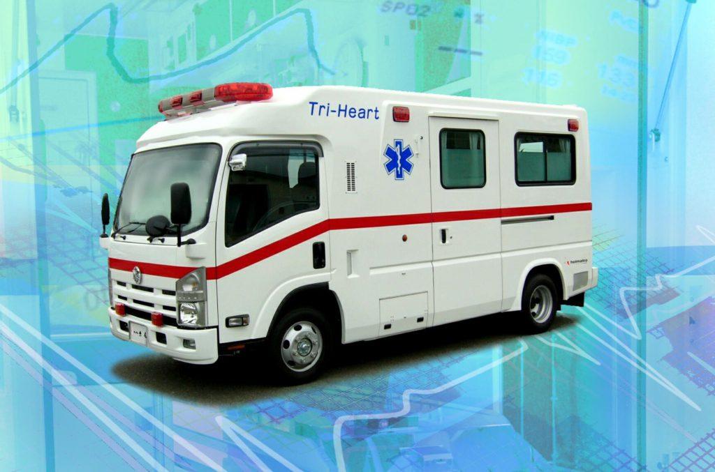 特殊救急車Tri-Heart(高規格救急車 準拠)