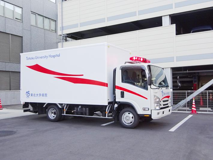 原子力事業用車 (装備資機材搬送車)