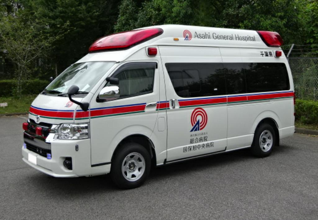 標準型救急車の高規格化改造