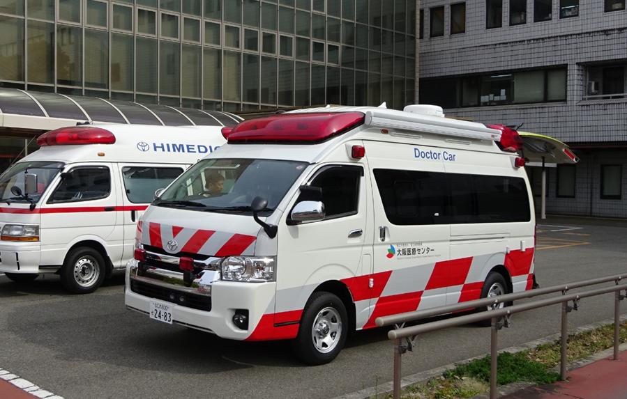 標準型救急車の高規格化改造Ⅱ
