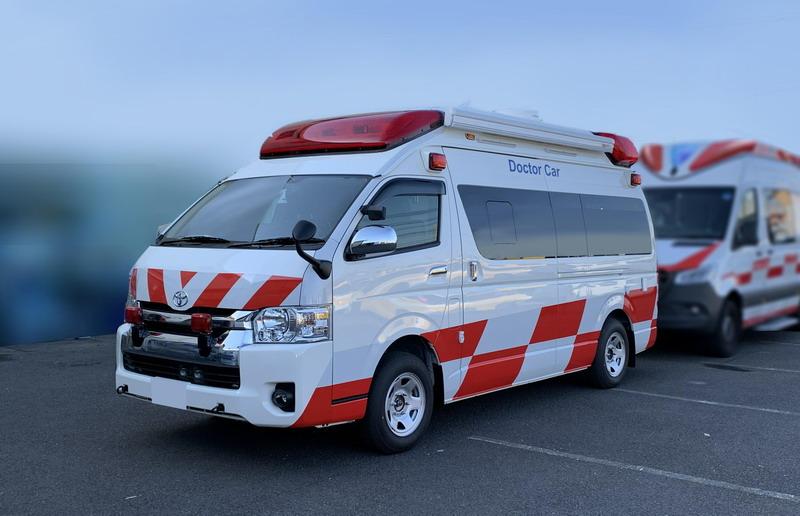 標準型救急車の高規格化改造(EN風)