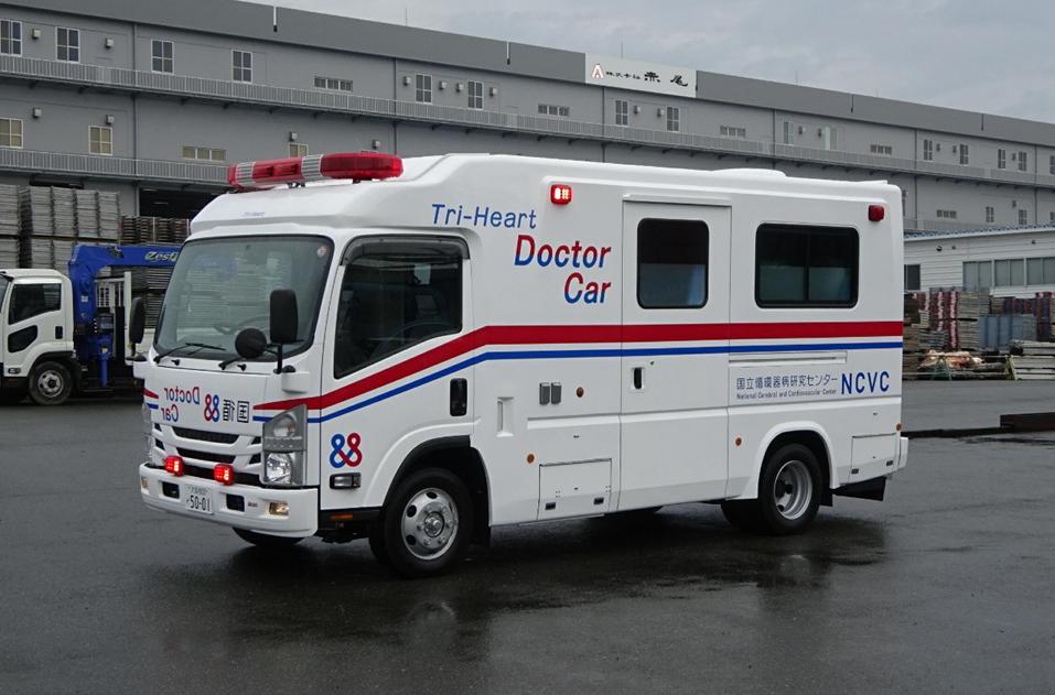 Tri-Heart ドクターカーMobile ECMO仕様