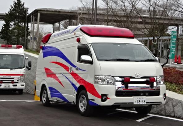 標準型救急車の高規格化改造 Ⅲ