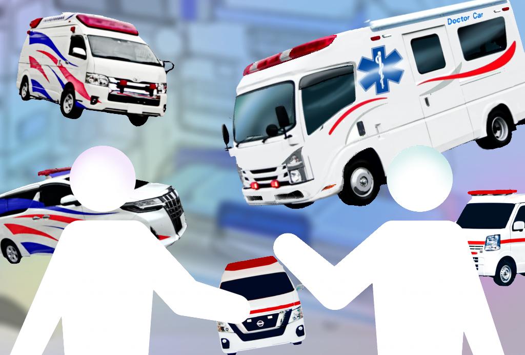 救急車雑談コーナー