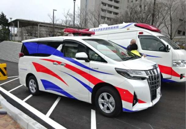 Hybridカー DMAT仕様
