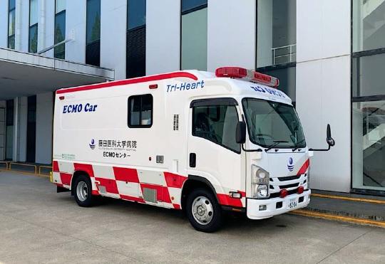 Tri-Heart ドクターカー Mobile ECMO仕様 Ⅸ