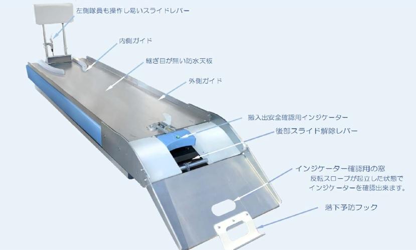 救急車用 新型防振架台 VCS-03 (特許申請中)