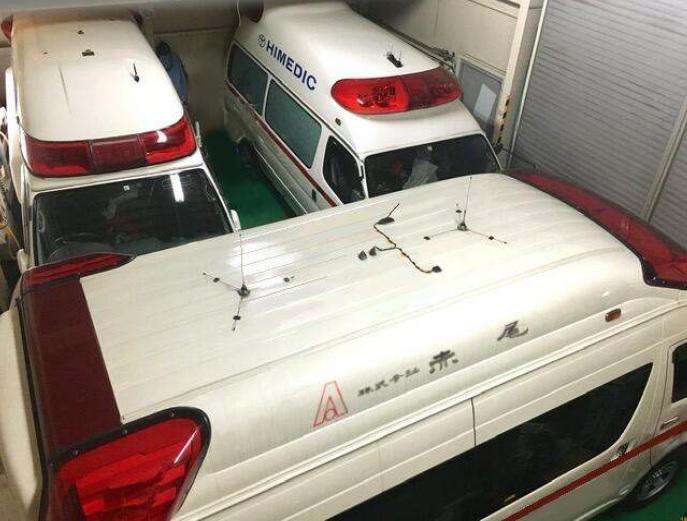 救急車追加改造、救急車修理の対応