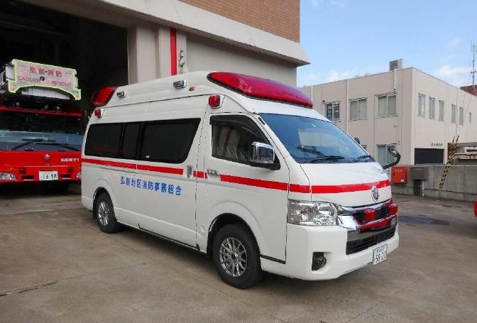 標準型救急車の高規格化改造 Ⅰ型(2)