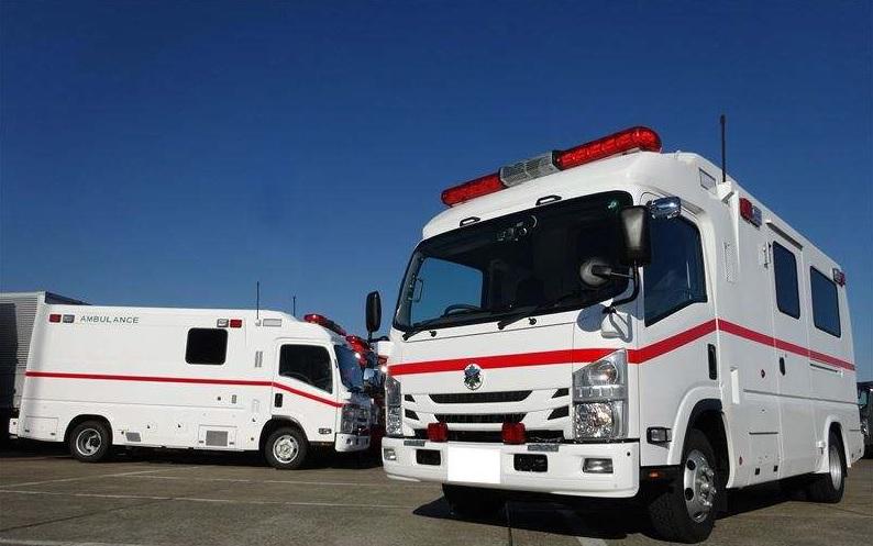 特殊救急車Tri-Heart(高規格救急車 準拠) 陰圧式救急車Ⅱ