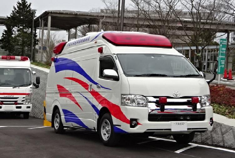 標準型救急車の高規格化改造Ⅲ