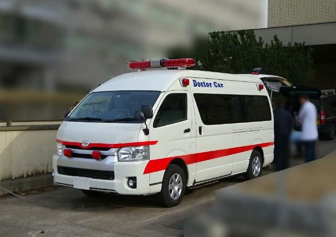 福祉車両のドクターカー化 小型Mobile ECMO仕様