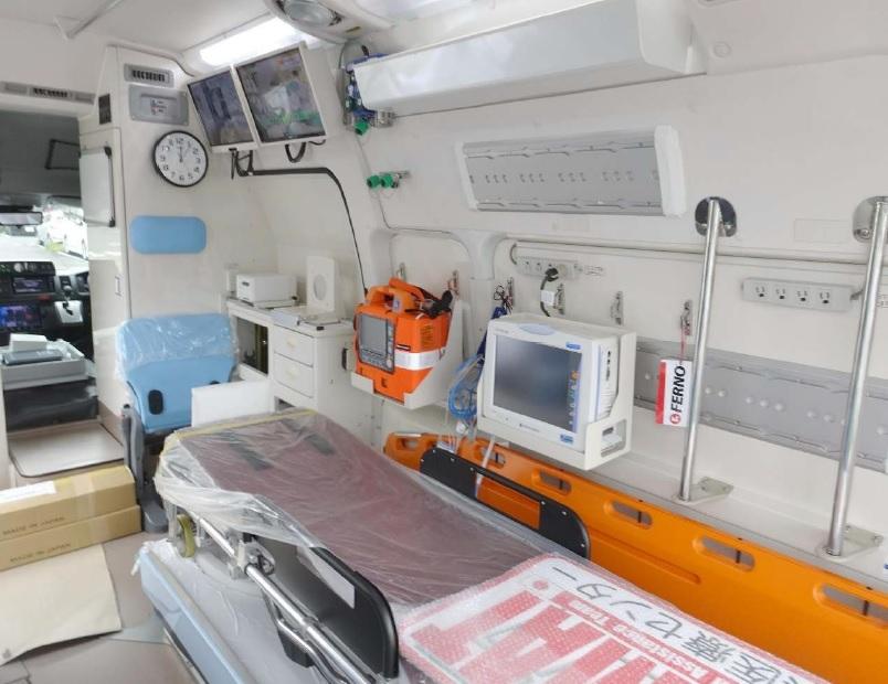 標準型救急車の高規格化改造Ⅳ